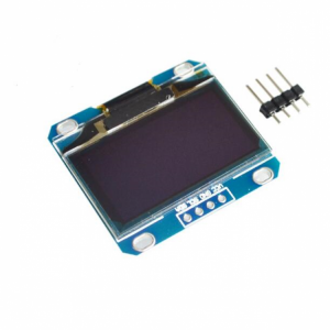 1.3 Inch 4Pin White OLED LCD Display