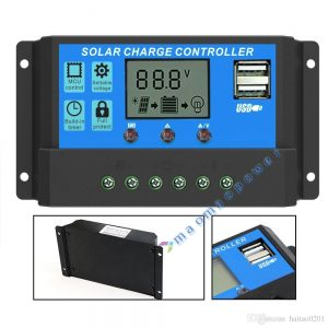 12V 20A Solar Charge Controller With USB Port for Mobile Charging