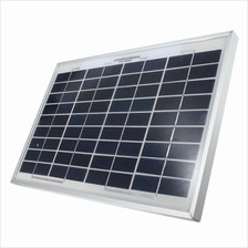 5W Poly-Si Solar Panel Module With 36 Cells 17-21V DC 10A Rectangular Size 11.8×7.5 Inch
