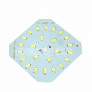 30-50W AC Light SMD LED Board With 63 LEDs High Power White