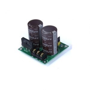 0-50V AC to DC Filter Circuit For Transformer