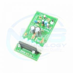 Music Equalizer Indicator With 10 Transparent 6 Blue 4 Red LED