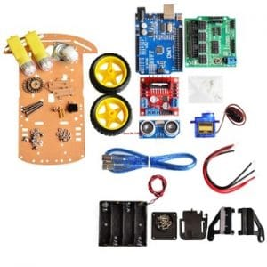 Obstacle Tracking Robot Kit