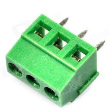 Large 3 Pin Green Connector