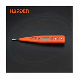 Harden digital voltage electrical test pencil with LCD display