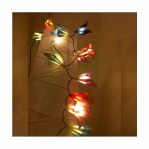 Hibiscus Flower Christmas Weeding Birthday Holiday Decoration String LED