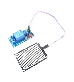 Rain Water Sensor With DC 12V Relay Raindrops Detection For Arduino Robotics