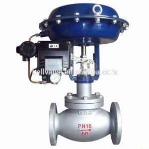 Pneumatic Water Flow Control Valve for chilled water.1/2""