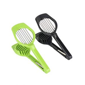 1pcs Egg Slicer Home Kitchen Cooking Egg Cutter Soft Cheese Tools Fruit Slicer Vegetable Cutter Eggs Tools-White
