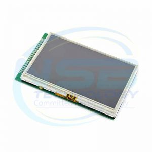 4.3″ 480X272 TFT LCD Module Display + Touch Screen Panel + PCB Adapter