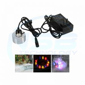 Ultrasonic Mist Maker Fogger Atomizer Air Humidifier Water Fountain Pond With Adapter