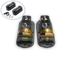 1 pair New photoelectric two-beam IR Sensor barrier detector, transmitter and receiver -Black