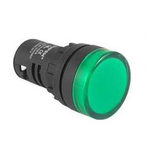 Push Buttons Switch With Led Indicator Light (Green)