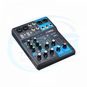 Yamaha Mixer 6 Channel Audio Mixer with DJ Sound System