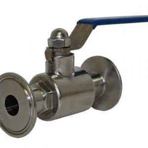 Stainless Steel TC Clamp 2 Way Valve (1 Inch) [Contact For Other Size]