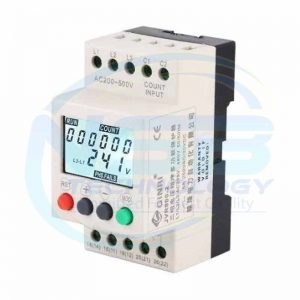 JVR800-2 Under Over Voltage Protector 3 Phase Voltage Monitoring Sequence Protection Relay
