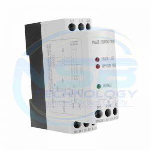 JVRD-6 3 Phase Sequence Failure Voltage Monitoring Protective Relay 200-500VAC latching relay