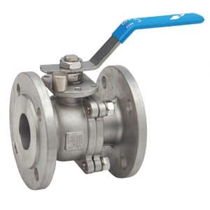 Stainless Steel Flanged Ball Valve (1 Inch) [Contact For Other Size]
