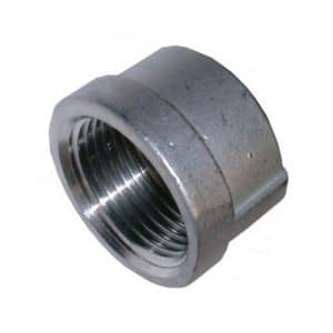 Stainless Steel Pipe Cap (1 Inch) [Contact For Other Size]