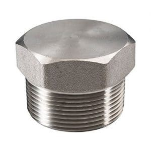 Stainless Steel Forged Plug (1 Inch) [Contact For Other Size]
