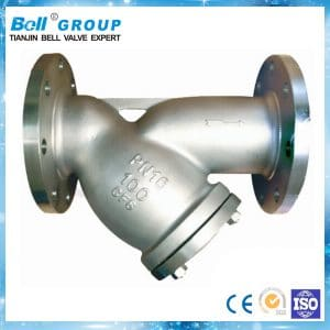 SS Flanged End y-strainer filter valve (1 Inch) [Contact For Other Size]