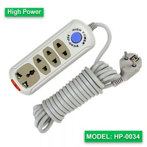 High Power multi extension socket HP-0034 (Cable-5M)