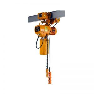 KOIO 1T Electric Chain Hoist with Monorail Trolley