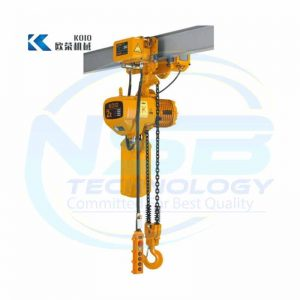 KOIO 2T Electric Chain Hoist with Monorail Trolley