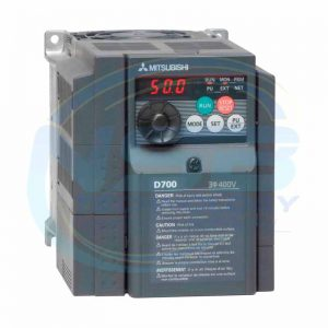 Mitsubishi Inverter Drive, 3-Phase In, 0.2 → 400Hz Out 1.5 kW, 440 V ac, 7 A, IP20 for use with FR-D720 Series