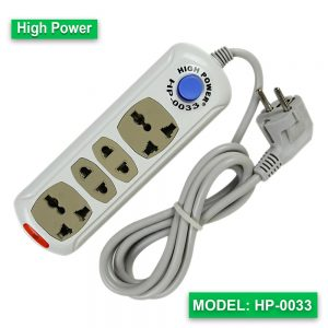 High Power multi extension socket HP-0033 (Cable-2M)