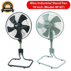 Mira Industrial Stand Fan 18 Inch (Model-M187)