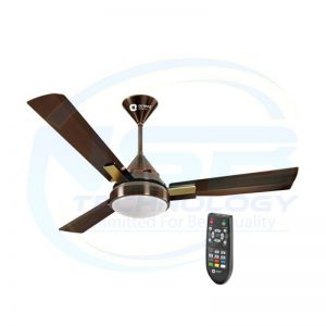 "Orient Spectra Antique Copper Ceiling Fan 48"" Inch"