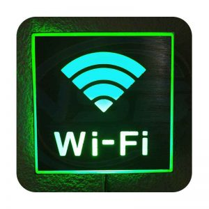 LED WIFI Sign – (Small Size)
