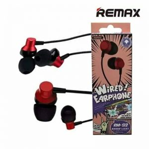 REMAX RM 512 High Performance Wired In Ear Earphone Stereo with Mic, 3.5mm Jack