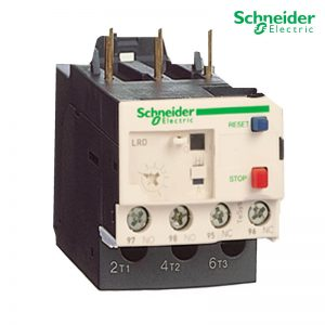 Schneider Electric Thermal Overload Relays LRD06 For D09 - D38 3P 1-1.7A