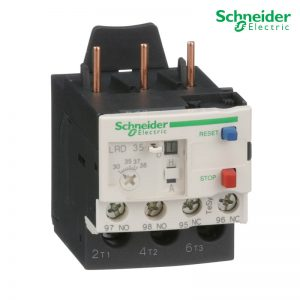 Schneider Electric Thermal Overload Relays LRD35 For D25 – D38 3P 30-38A