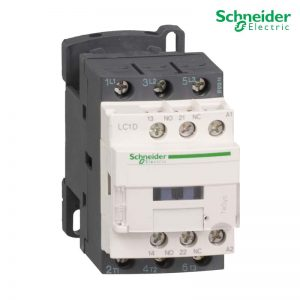 Schneider Magnetic Contactor LC1-D38 38A 3P 110-220-415V AC