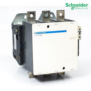 Schneider Magnetic Contactor LC1-F500 500A 3P 110-220-415V AC