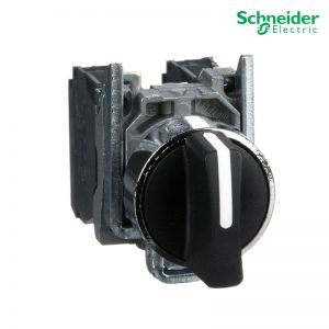 Schneider Selector Switch Modular Components Control Product XB4BD53 3 Position Selector Switch (Metal)