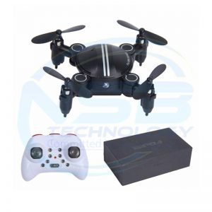 FDJ Mini Pocket Drone Wizard Foldable RC Mini Drone 2.4G 4CH RC 3D 360 Degree Roll Foldable | Drone Price BD